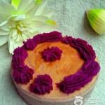 豆腐花紫薯蛋糕
