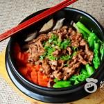 蚝油牛肉煲仔饭