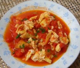 土鸡蛋炒番茄
