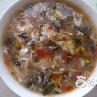 紫菜西红柿鸡蛋汤