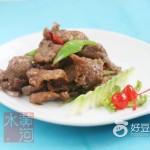 豉椒炒驴肉