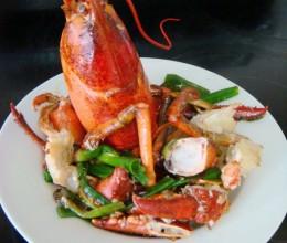 姜葱大龙虾