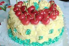 红曲樱桃生日蛋糕
