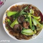 榛蘑炒粉皮