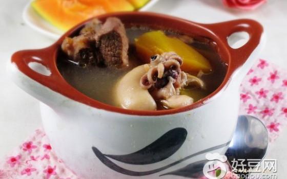 木瓜墨魚湯