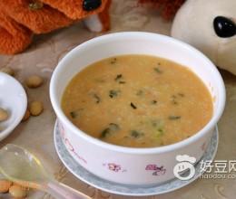 豆浆排骨杂蔬粥