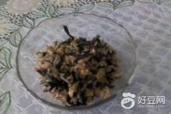 橄榄油猫爪菜炒饭