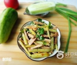 黄瓜拌肉丝