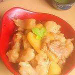 土豆炒面疙瘩