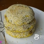 南瓜红糖芝麻酱饼