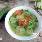 野虾皮丝瓜汤