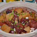土豆猪蹄砂锅煲