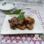 炸碱水红豆粽