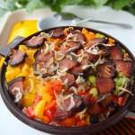 時蔬臘肉燜飯