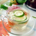 茉莉花檸檬茶