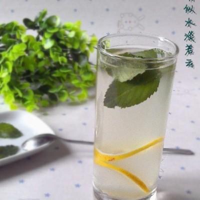 柠檬薄荷茶
