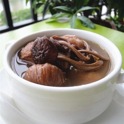 木棉花怎么吃-木棉花茶树菇煲鹧鸪