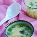 松茸鸡蛋汤