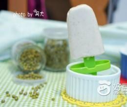 绿豆奶油冰棒