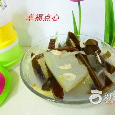 虾皮冬瓜海带汤
