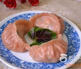 苋莱烫面西葫芦蒸饺