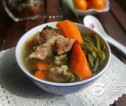 猪骨煲西洋菜