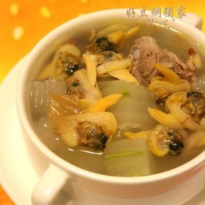 蚬肉排骨冬瓜汤