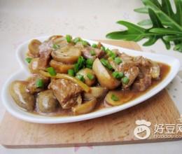 牛肉烧草菇