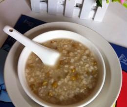 小米麦仁绿豆粥