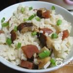腊肉香菇饭