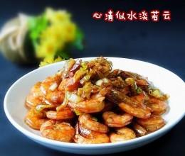 吮指油焖大虾