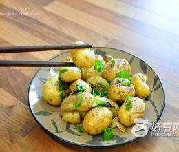 葱香孜然小土豆