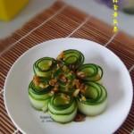 蒜香黄瓜卷