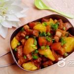 土豆炖五花肉