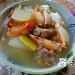 冬瓜排骨螃蟹汤
