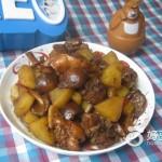 土豆香菇鸡