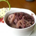 莲藕红豆汤