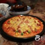 豌豆玉米火腿肠披萨