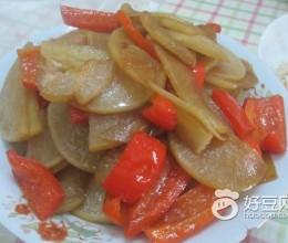 腊肉烧萝卜