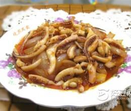 番茄沙司鱿鱼须