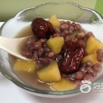 红豆薏米苹果粥