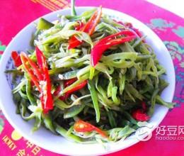 朝天椒炒扁豆