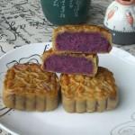 玫瑰紫薯月饼
