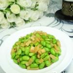 蘿卜干炒毛豆