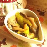 鲜蘑烩黄瓜