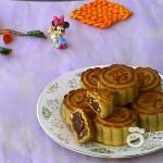 玫瑰果仁月饼