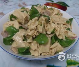 青椒干豆腐