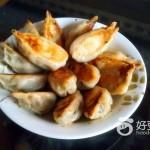 韭菜肉柳叶煎饺