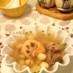 荷香三宝汤