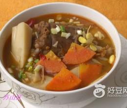 牛尾杂蔬汤